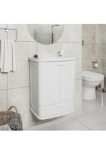 Gabinete Suspenso Para Banheiro Astra Gab5 Com Lavatório