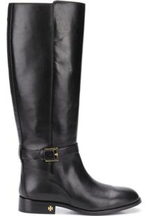 Tory Burch Bota 'Perfect' De Couro - Preto
