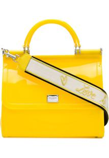 Dolce & Gabbana Bolsa Totte 'Sicily' - Amarelo