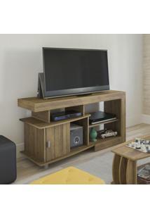Rack Para Tv Até 42 Polegadas 1 Porta Royal Moderno Artely Pinho