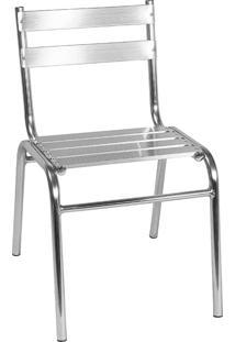 Cadeira Em Aluminio 106 – Alegro Móveis. - Alumínio