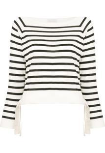 Moncler Blusa De Tricô Listrada - Branco