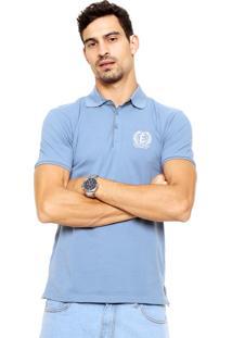 Camisa Polo Enfim Reta Azul