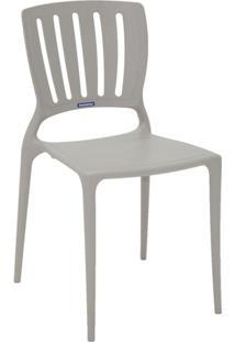 Cadeira Sofia Encosto Vertical Cinza 92035210 Tramontina