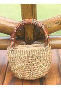 Bolsa Carteira / Clutch Sneak Peek Bamboo Bege