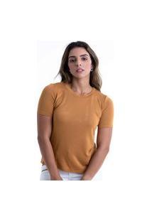 T-Shirt Its&Co Giana Camelo