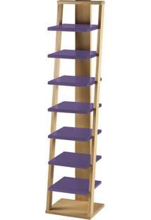 Prateleira Stairway Roxo