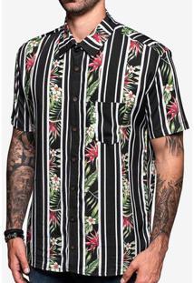 Camisa Viscose Listra Floral 200442