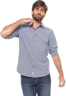 Camisa Timberland Reta Stripes Azul