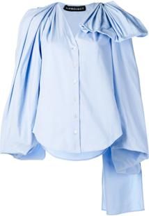 Y/Project Blusa Oversized - Azul