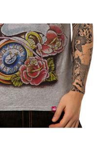 Camiseta Wevans Caveira Tattoo Old School - Masculino