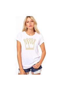 Camiseta Coolest Coroa Branco