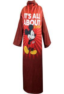Cobertor Zona Criativa Com Mangas Mickey