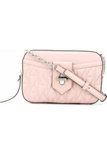Karl Lagerfeld Bolsa Transversal K/Studio - Rosa