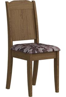 Cadeira Bárbara Floral Savana