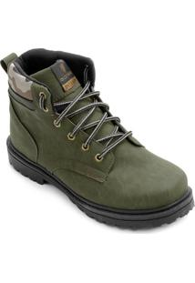 Bota Gonew Fenix Camo Masculina - Masculino-Verde Militar