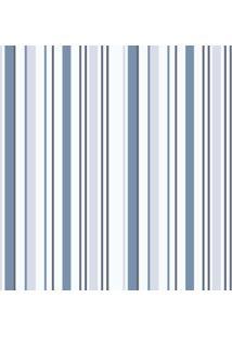 Papel De Parede Lyam Decor Coleção Bambinos Listras 3318 Bobinex Azul