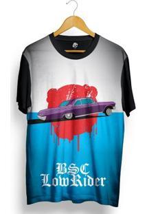 Camiseta Bsc Lowrider Blood Full Print - Masculino-Preto