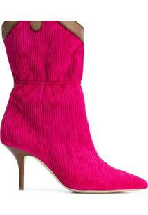 Malone Souliers Ankle Boot 'Daisy' De Couro - Rosa