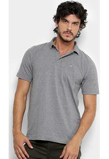 Camisa Polo Quiksilver Cotton Masculina - Masculino