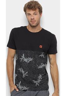 Camiseta Hang Loose Estampada Flor Masculina - Masculino