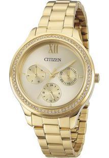 Relógio Analógico Tz28342G- Dourado- Citizencitizen