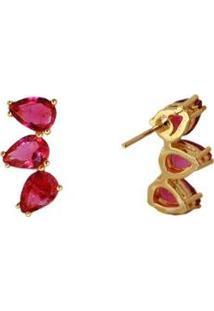 Brinco Ear Cuff Ania Store Sintra - Feminino-Dourado