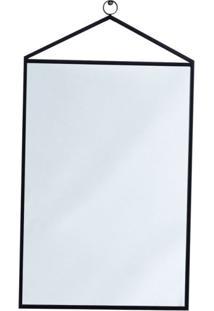 Espelho Decorativo Bart 36 X 79 Cm Preto