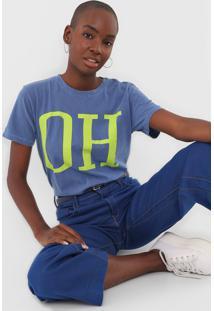 Camiseta Oh, Boy! Oh Azul - Kanui