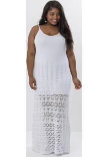 51917f570620 R$ 99,90. Lojas Renner Vestido Longo Com Textura Curve & Plus Size
