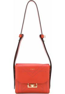 Givenchy Bolsa Transversal Eden Pequena - Laranja