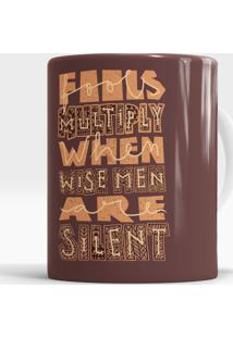 Caneca Wise Men'S Silence
