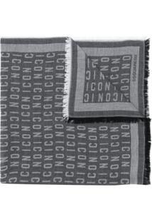 Dsquared2 Lenço Icon - Cinza