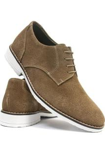 Sapato Casual Salazari Casual Oxford Couro Masculino - Masculino