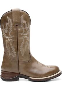 Bota Texana Osso Claro Com Texas Floather 56297 - Masculino