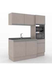 Cozinha Compacta Dion 6 Portas 1 Gaveta 600015 Moon - Vedere