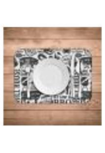 Jogo Americano Wevans Grill House Kit Com 6 Pçs