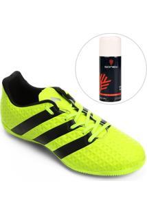 Kit Chuteira Adidas Ace 16.4 In Futsal + Limpa Tênis - Gonew - Masculino