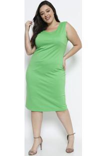 Vestido Liso - Verdesimple Life