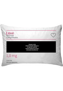Fronha Para Travesseiros Nerderia E Lojaria Remedio Love Colorido