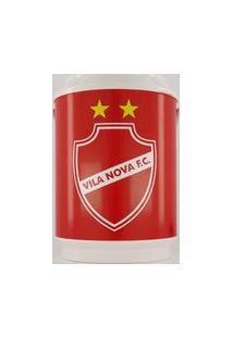 Cooler Vila Nova 10 Latas Branco E Vermelho