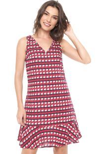 bc34960a3374 Vestido Estampado Malwee feminino | Shoelover
