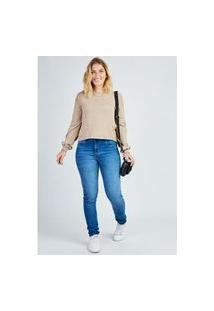 Calça Jeans Skinny Gang Feminina