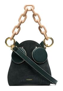 Yuzefi Pepper Chunky-Chain Bag - Verde