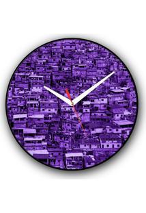 Relógio De Parede Colours Creative Photo Decor Decorativo, Criativo E Diferente - Morro Do Alemão No Rio De Janeiro