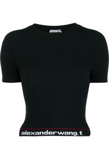 Alexander Wang Camiseta Body Stocking - Preto