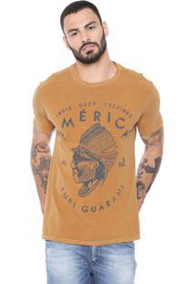 Camiseta Reserva Pataxo Caramelo