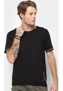 Camiseta Cavalera Fio Com Trançador Masculina - Masculino