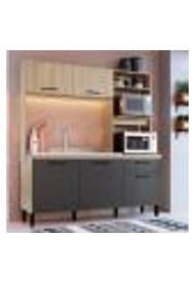 Cozinha Compacta Gabriela 5 Pt 1 Gv Branco