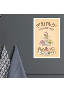 Quadro Pump Up Emoldurado Sweet Bakery B
